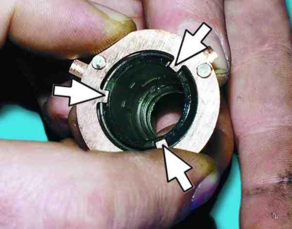 замена пластины контактной группы замка зажигания