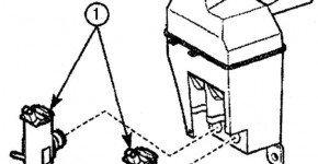 Как снять и установить насос омывателя на Дэу Матиз