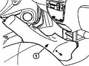как снять панель управления с матиза