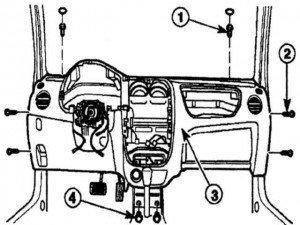 установка панели управления на матиз