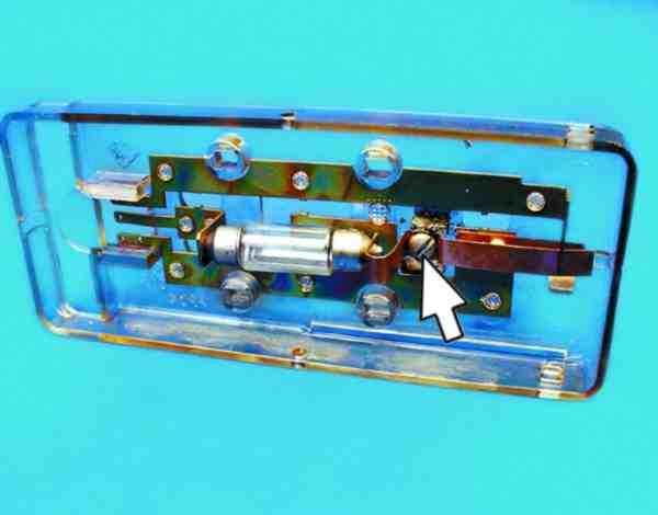 ремонт плафона освещения салона