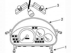 разбираем панель приборов на матизе