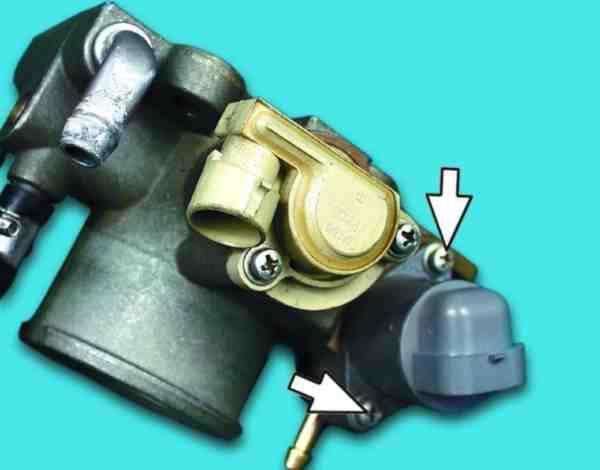 Как поменять регулятор холостого хода на ВАЗ 2110