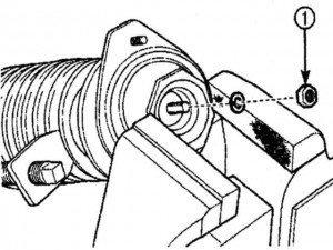 как разобрать стойку амортизатора на матизе