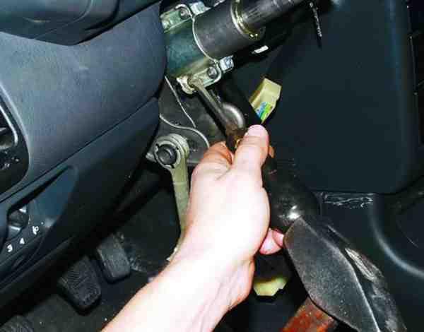 Как снять и установить замок зажигания на ВАЗ 2110