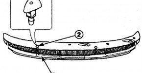 Как снять и установить жиклер омывателя ветрового стекла на Матиз