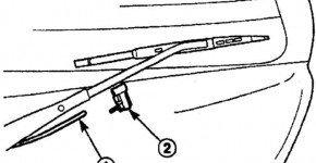 Как заменить жиклер омывателя заднего стекла на Дэу Матиз