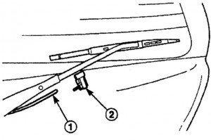 как поменять жиклер омывателя заднего стекла на матизе