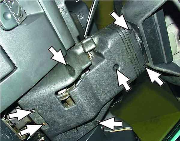 Как снять и установить подрулевые переключатели на ВАЗ 2110, 2111, 2112