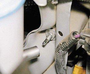 снятие и установка блок фары на лачетти