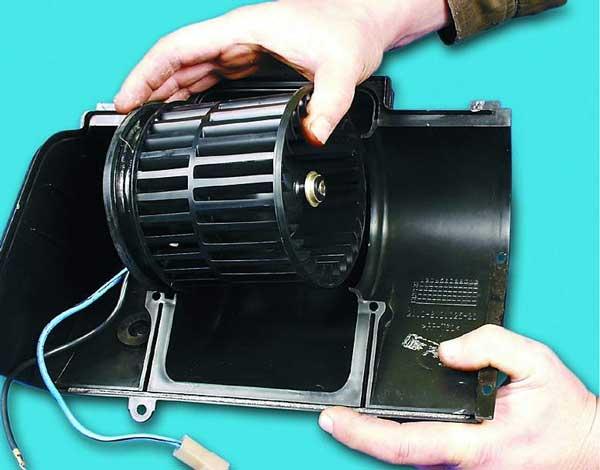вынимаем вентилятор