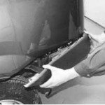 Как снять и установить задний бампер на рено логан