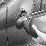 Как снять и установить наружное зеркало заднего вида на рено логан