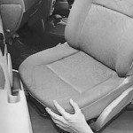 Как снять и установить переднее сиденье на рено логан