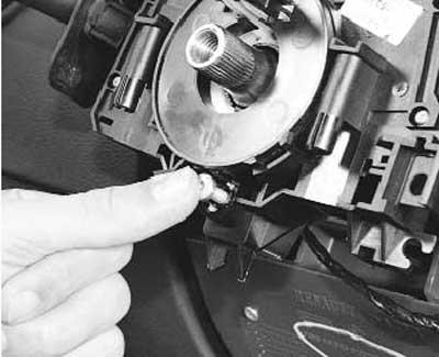 как заменить подрулевые переключатели на рено логан