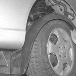 Как снять и установить подкрылки передних колес хендай акцент