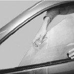 Как заменить стекло передней двери на рено логан