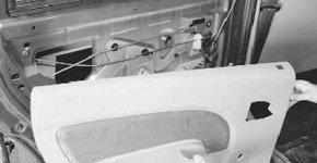 Как снять и установить обивку задней двери рено логан