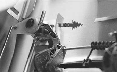 Как заменить личинку замка передней двери рено логан