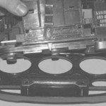 Как снять блок управления системой отопления на хендай акцент
