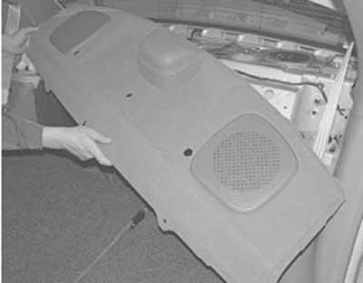 Как снять и установить крышку багажника хендай акцент