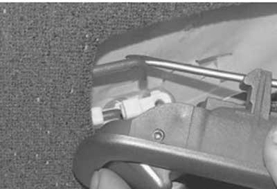 Как снять и установить обивку передней двери на хендай акцент