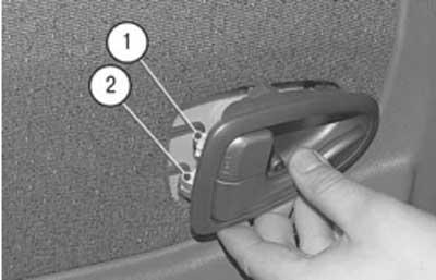 Как снять обивку задней двери хендай акцент