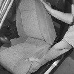 Как снять переднее сиденье с приоры