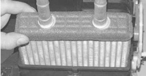 Как снять и установить радиатор отопителя на хендай акцент