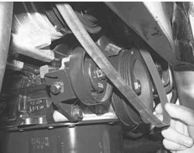 Как проверить и заменить ремень привода компрессора кондиционера на хендай акцент