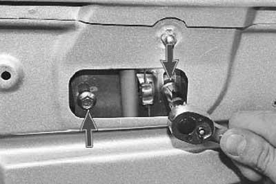 Как заменить стеклоподъемник задней двери на приоре