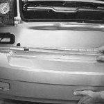 Как снять и установить задний бампер на ладу приору