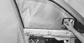 Как заменить стекло передней двери на приоре