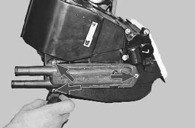 как заменить радиатор отопителя на приоре