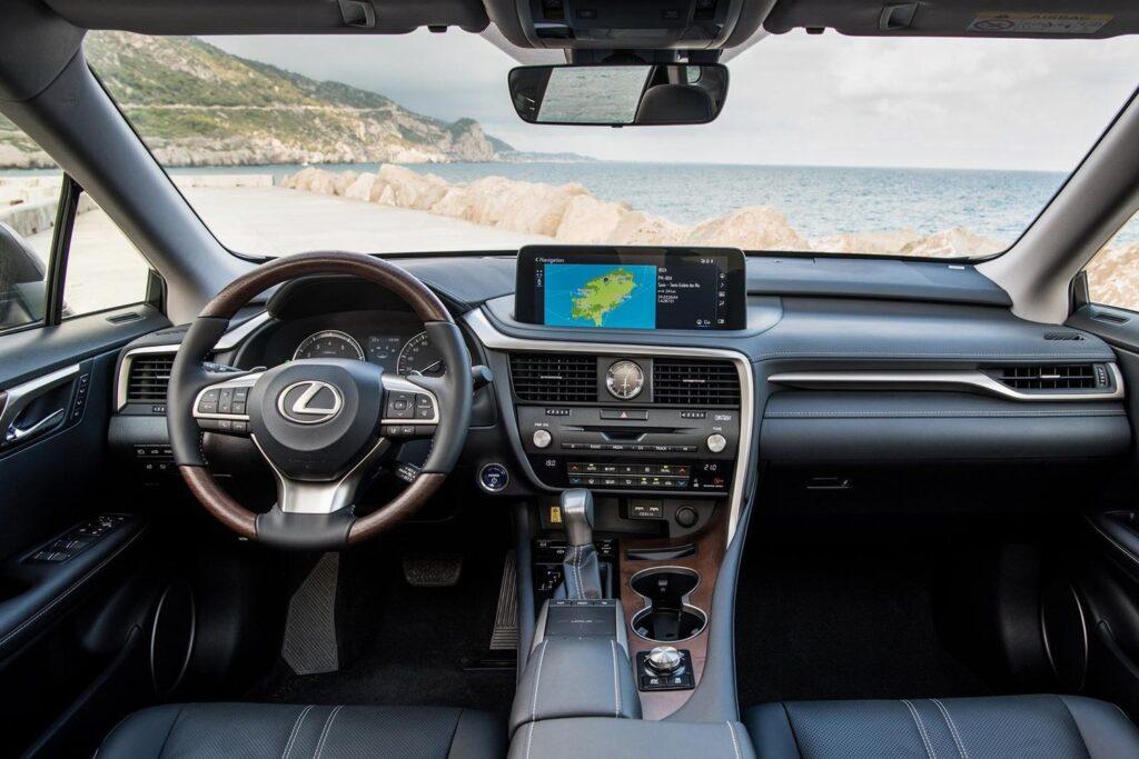 Обзор Lexus RX 300 2019 года