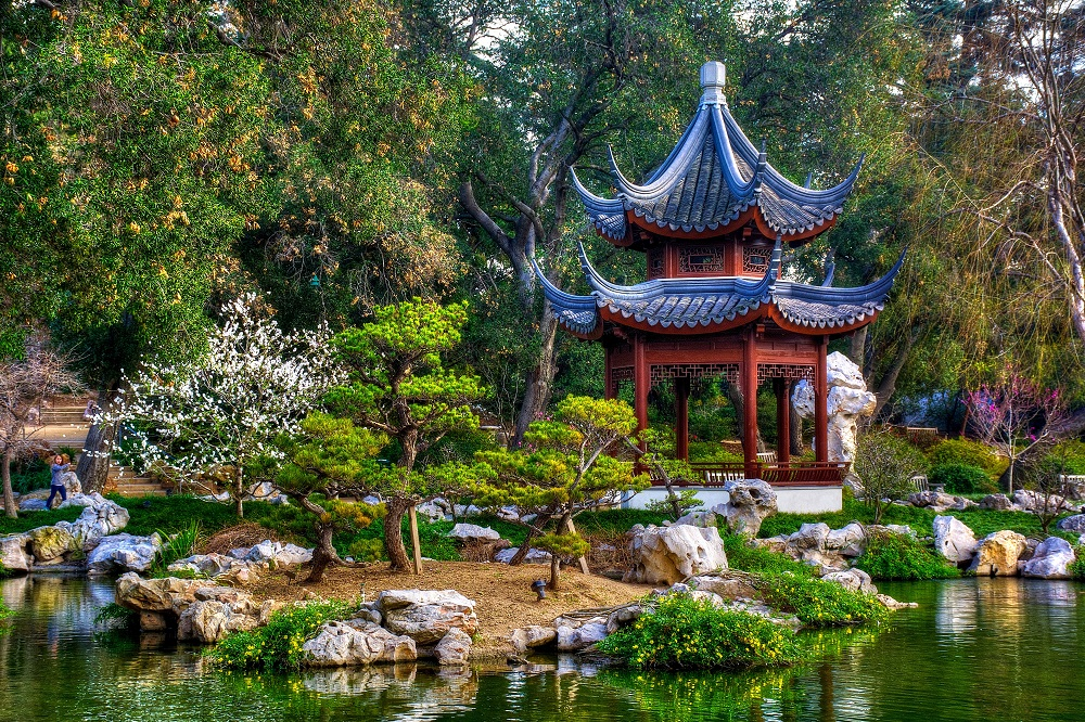 Ландшафтные композиции японского сада