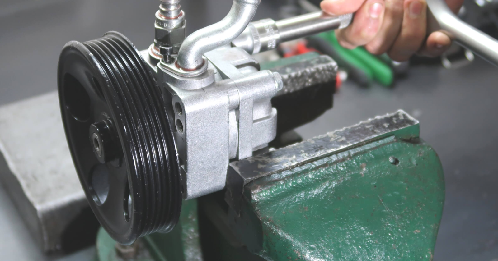 Как отремонтировать насос гидроусилителя
