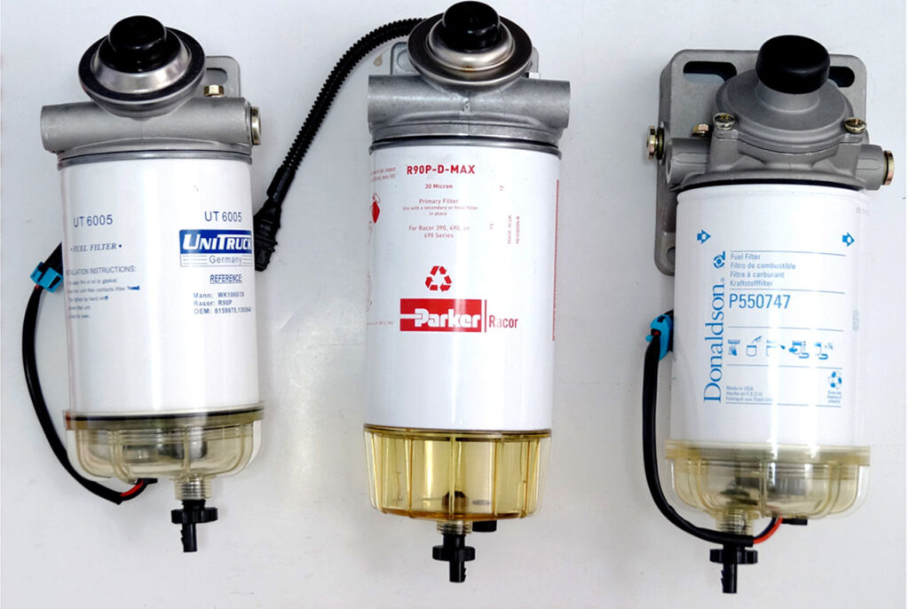 Основные характеристики фильтров для дизельного топлива