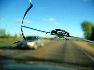 Уязвимость лобового стекла